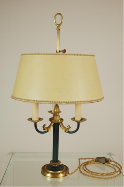 Nr.176 Lampe hellgelber Schirm